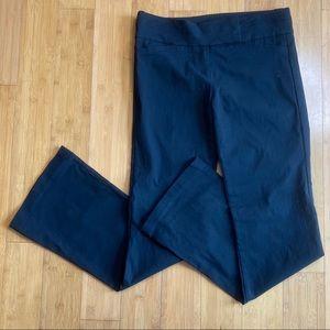 Candie's stretch career dress pants black 7